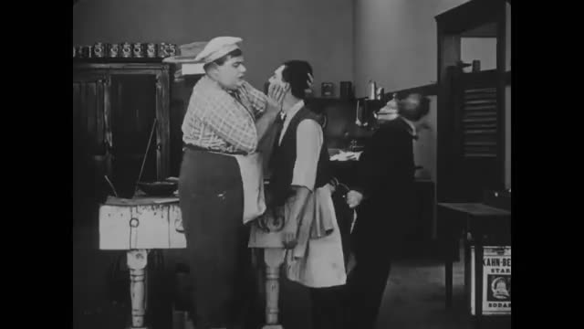 Watch The cook  GIF by kaplan (@kaplan) on Gfycat. Discover more Buster Keaton, Bye, Old Movie, GIFs on Gfycat