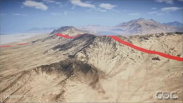 Ghost Recon Wildlands Terrain Tools and Technology - Brush