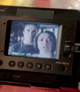Watch Reporting to you live from retro world, I'm Bonnie Bennett.  GIF on Gfycat. Discover more bamon, bamon shippers club, bamonedit, bonnie bennett, damon salvatore, gaaahh I miss them so much, gifsets*, hubby and wifey*, like a fever you can't shake, mine, new*, tvd, tvd* GIFs on Gfycat
