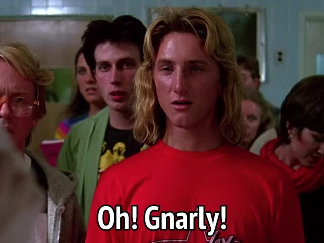 Watch and share Fast Times At Ridgemont High GIFs and Sean Penn GIFs by MikeyMo on Gfycat