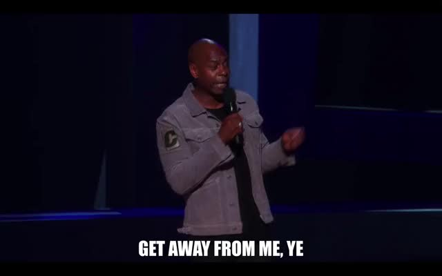 Watch this comedy GIF by Media Paradise (@entfanatic) on Gfycat. Discover more chappelle's show, comedy, dave chappelle, dave chappelle: equanimity, equanimity, netflix, stand up comedy GIFs on Gfycat