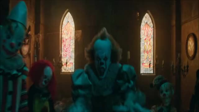 Watch this horror GIF by IT Movie (@itmovie) on Gfycat. Discover more clown, creepy, horror, it, it movie, scary, warner bros., warnerbros, wb GIFs on Gfycat