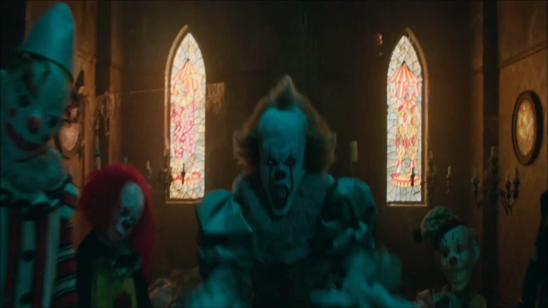 clown, creepy, horror, it, it movie, scary, warner bros., warnerbros, wb, Grab. GIFs