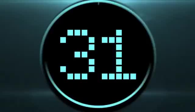 Watch and share Countdown Timer LED 30 Sec ( V 187 ) Blue Clock Timer With Sound Effects HD  █▬█ █ ▀█▀ GIFs on Gfycat