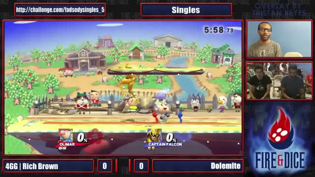 Watch and share Smash Or Die Young #5 - 4GG RichBrown (Olimar) Vs Dolemite (Captain Falcon) - Smash Wii U (reddit) GIFs on Gfycat