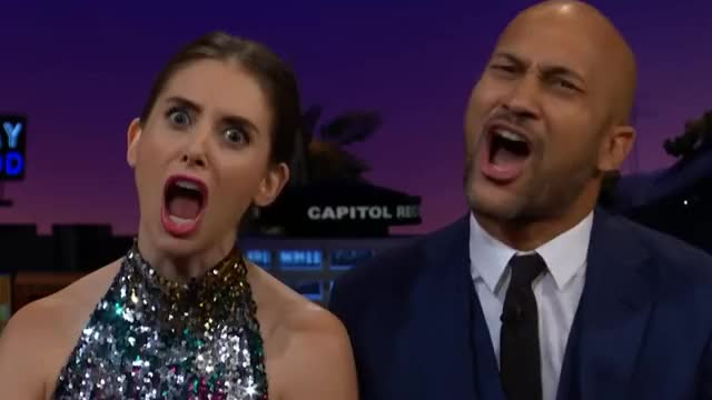 Watch this alison brie GIF by GIF Queen (@ioanna) on Gfycat. Discover more alison, alison brie, are, brie, corden, for, james, keegan, key, late, line, lol, michael, predator, real, really, shock, surprise, unbelievable, you GIFs on Gfycat