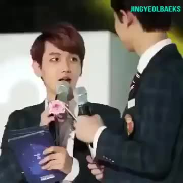 Watch Baekhyun teasing chanyeol  moments compilation GIF on Gfycat. Discover more related GIFs on Gfycat