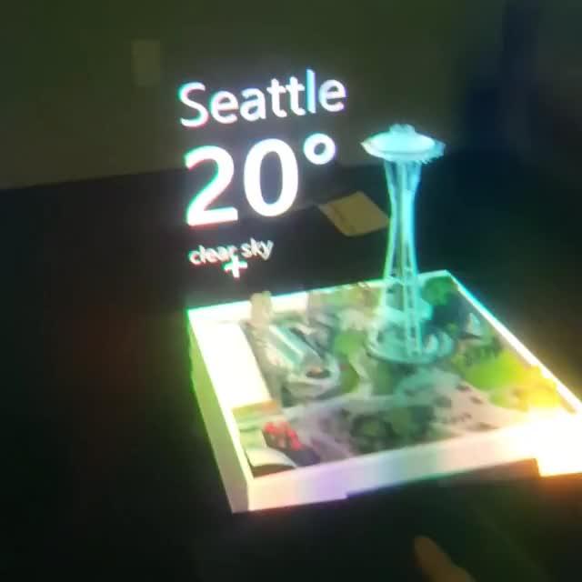 Watch and share MRTK MapsSDK WeatherCube GIFs by Dong Yoon Park on Gfycat
