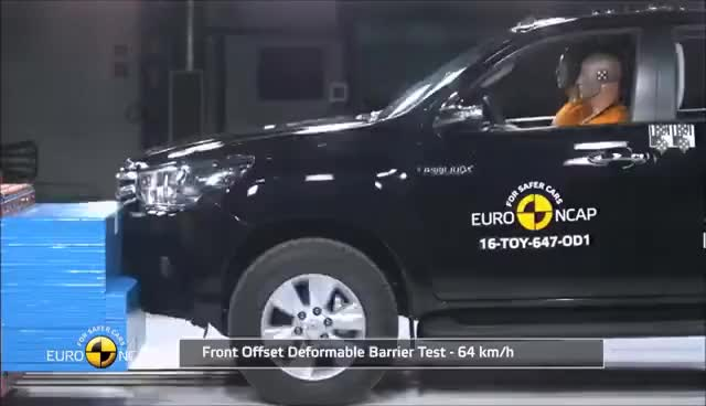 Watch and share 2016 Toyota Hilux - Crash Test GIFs on Gfycat