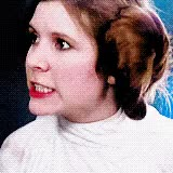 Watch and share Princess Leia Eye Roll GIFs by Reactions on Gfycat