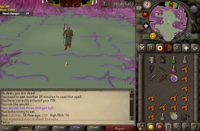 Watch and share Just Your Typical Sire Trip : 2007scape GIFs on Gfycat