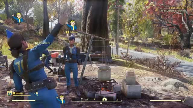 Watch Saying hi GIF by @icep4ck on Gfycat. Discover more Fallout 76, Fallout 76 B_E_T_A_, catpower, icepack, pixelbits GIFs on Gfycat