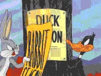 Watch and share Duck Season, Wabbit Season GIFs on Gfycat