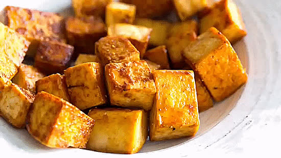 vegangifrecipes, Easy Maple Tofu GIFs
