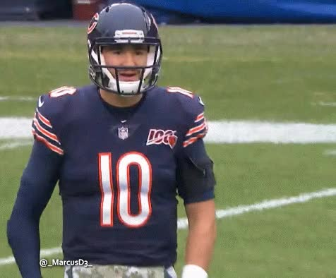 Watch and share Mitchell Trubisky Reaction GIFs by MarcusD on Gfycat