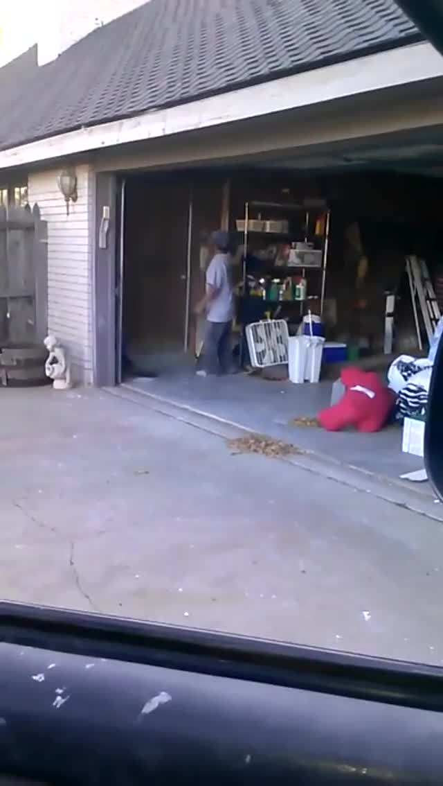 Watch and share Garage Door Hop GIFs by HoodieDog on Gfycat