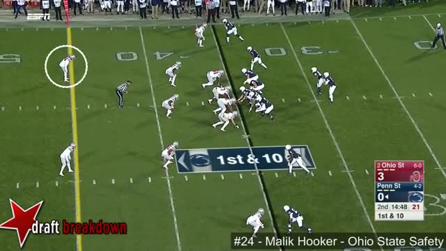 Watch and share Malik Hooker (Ohio State Safety) Vs Penn State 2016 GIFs on Gfycat