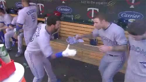 Watch and share Blue Jays Dance GIFs by whyusomadfor on Gfycat