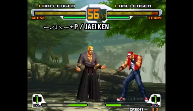 Watch and share SVC CHAOS  //  Geese Howard [MOVELIST] GIFs on Gfycat