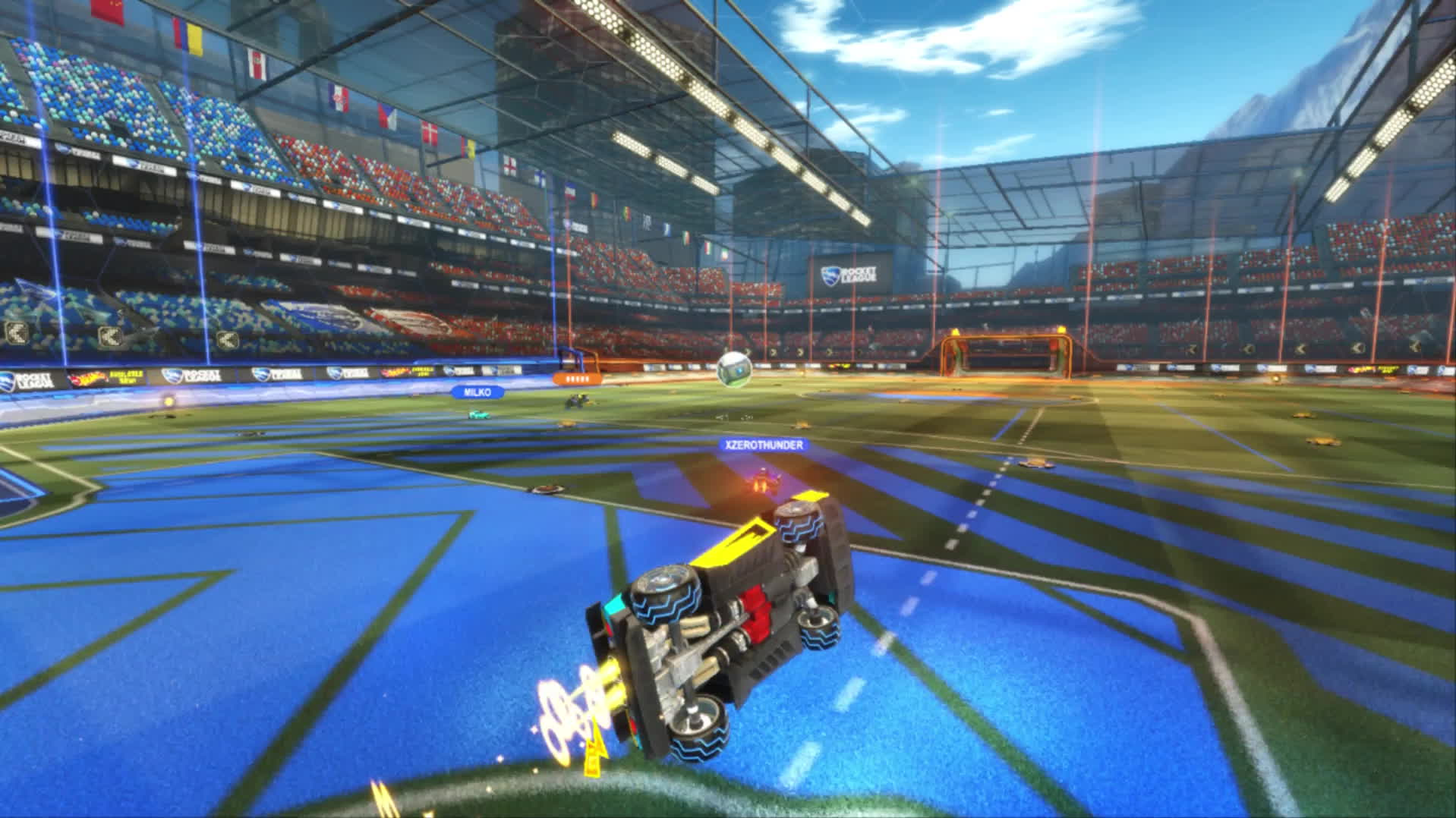 EAF, gaming, [Rocket League] Cutting it so close you need a microscope (reddit) GIFs