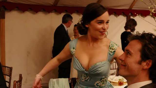 Watch and share Emilia Clarke GIFs and Sam Claflin GIFs on Gfycat