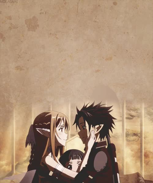 Watch tumblr GIF on Gfycat. Discover more asuna, asuna yuuki, kazuto kirigaya, kirigaya kazuto, kirito, nope, otp: i will protect you till the end of time, sao, saogfx, saogifs, sword art online, yui, yuuki asuna GIFs on Gfycat