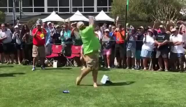 Beer can boob smash 7