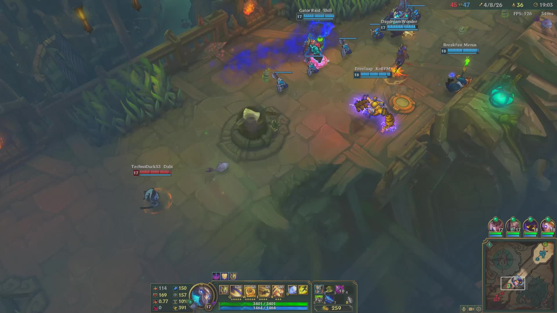leagueoflegends, Aram fight GIFs