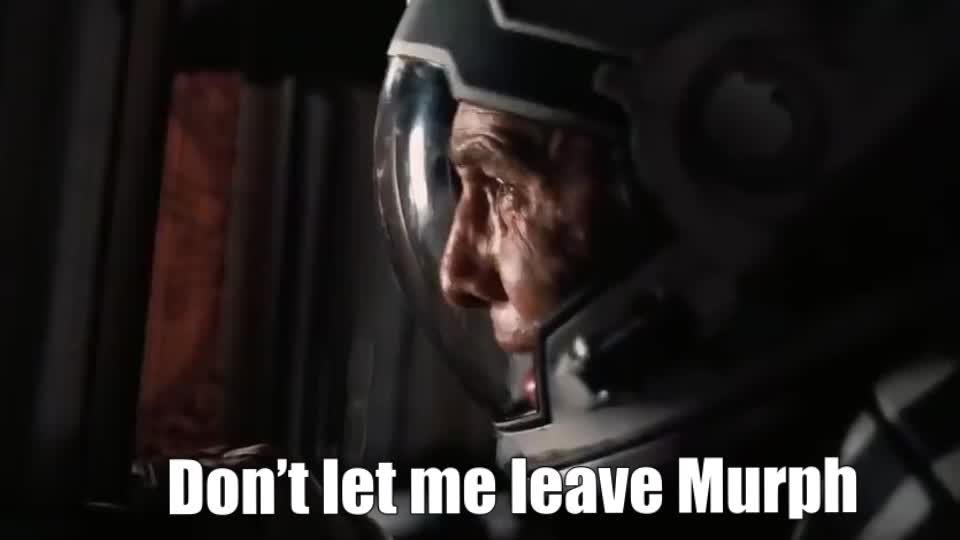 interstellar, interstellar - make him stay murph scene 1080p hd, videos, Don't let me leave Murph GIFs