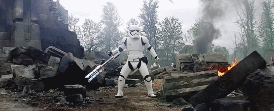 The canonical story behind TR-8R, the internet's new favorite stormtrooper | Polygon GIFs