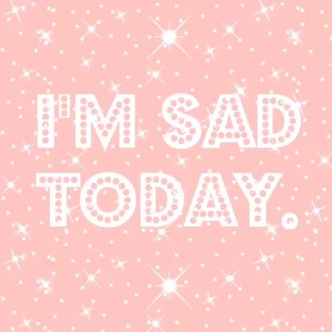alyssa spatola, bad day, depressed, feeling down, sad, I'm Sad Today GIFs