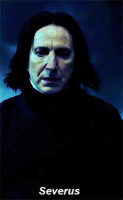 Watch and share Severus Snape GIFs and Alan Rickman GIFs on Gfycat