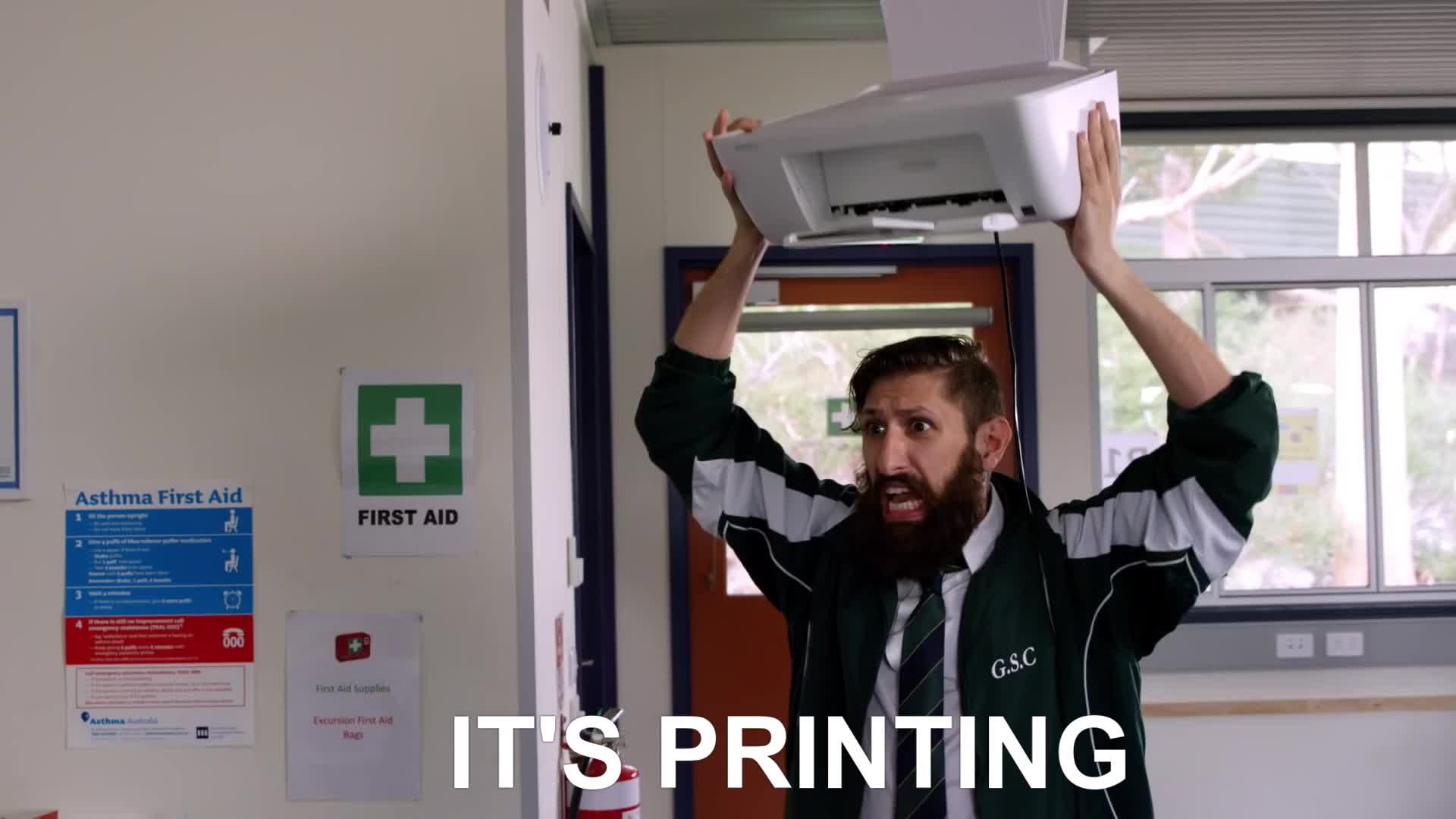 aunty, aunty donna, comedy, donna, funny, humor, humour, sketch, videos, Printing GIFs