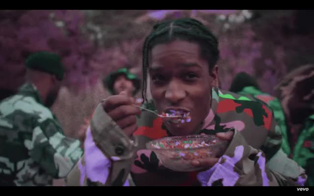 Watch and share A$AP ROCKY EATING CEREAL S/o To @asaprocky GIFs on Gfycat
