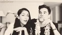 Watch and share Kian And Andrea GIFs and Andrea Russett GIFs on Gfycat