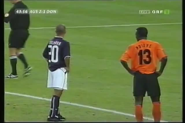 Watch and share 2002 September 17 Austria Vienna Asutria 5 Shakhtar Donetsk Ukraine 1 UEFA Cup GIFs on Gfycat