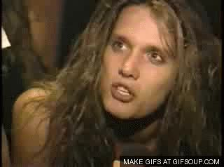 Watch Sebastian Bach GIF on Gfycat. Discover more related GIFs on Gfycat