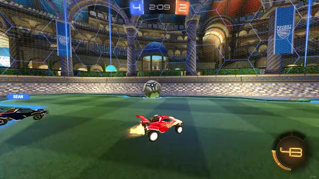 Watch and share Flip Reset Goal 1v1 GIFs by Meeno on Gfycat