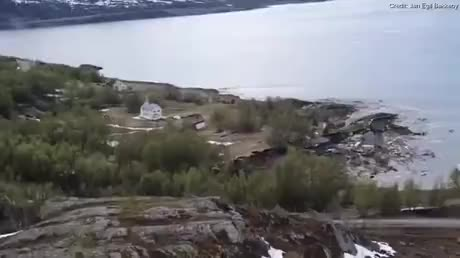 Next level land slide gif