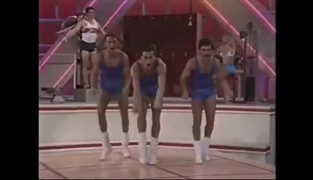 Watch aerobics GIF on Gfycat. Discover more aerobics GIFs on Gfycat