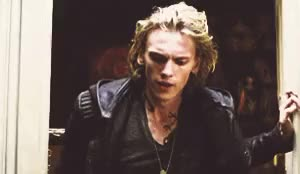 Watch FUCK OFF. GIF on Gfycat. Discover more book, boy, gif, jace, jamie campbell bower, the mortal instruments, tumblr GIFs on Gfycat