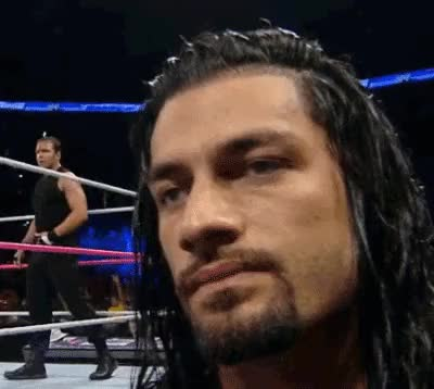 Watch and share 2014 Roman Reigns Gifs | Reaction, Roman Reigns, Smackdown, Wwe, Wrestling GIFs on Gfycat