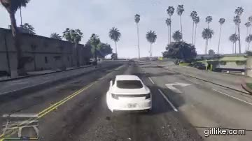 Watch Car drift in GTA V. (x-post from /r/GrandTheftAutoV) : oddlysatisfying GIF on Gfycat. Discover more related GIFs on Gfycat