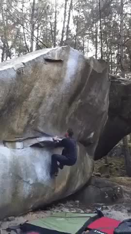 Watch and share Impressive Bouldering Hop GIFs by HowRichest on Gfycat