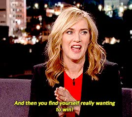 Watch and share Kate Winslet GIFs and Winning GIFs on Gfycat