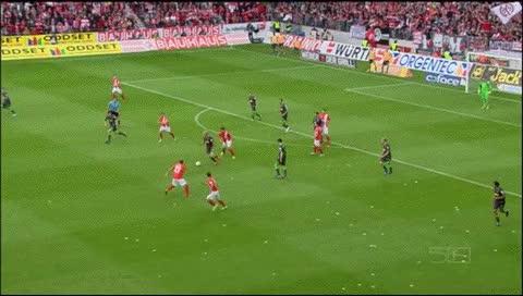 Watch and share Branimir Hrgota. Mainz - Borussia Mon. 2012-13 GIFs by fatalali on Gfycat