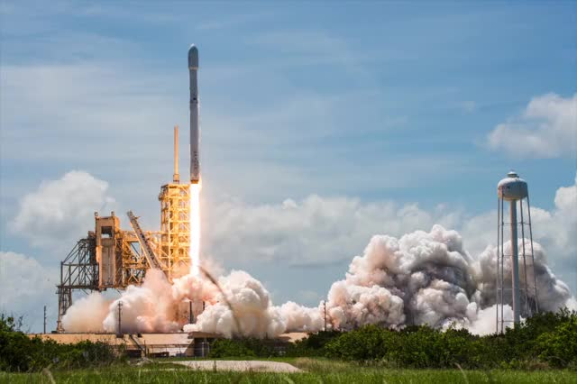 Watch and share SpaceX - BulgariaSat-1 - Brady Kenniston For NASAspaceflight GIFs on Gfycat