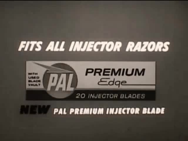 Watch Pal Premium Injector Blades Ad (1960s) Gif by Marc Rodriguez GIF by Marc Rodriguez (@marcrodriguez) on Gfycat. Discover more 1960s, TV, ad, advertisement, black and white, blades, blink, blinking, commercial, film, marc rodriguez, new, pal, razor, shaving, television, vintage, vintage gif GIFs on Gfycat