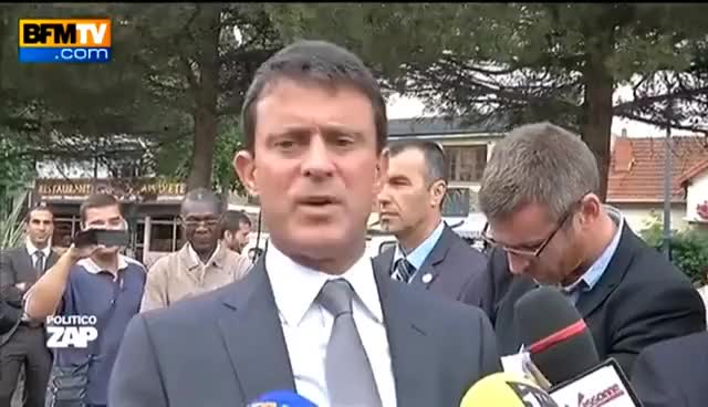 Watch and share Manuel Valls A Peur De L'orage GIFs on Gfycat