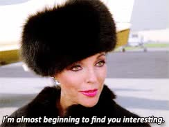 Watch and share Alexis Carrington GIFs on Gfycat